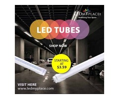 Impeccable LED Tubes to Add Beauty at Home & Commercial Space