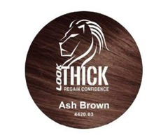 Ash Brown Hair Fibers