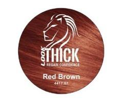 Red Brown Hair Fibers