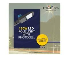 Install LED Pole Light to Get the Best Illumination