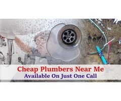 Cheap Plumbers Near Me Available On just One Call