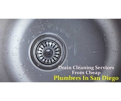 Drain Cleaning Services From Cheap Plumbers In San Diego