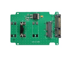 Mini PCI-E mSATA SSD 50mm to 2.5 Inch SATAIII 7 Pin 15 Pin Adapter Converter Card