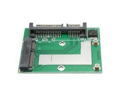 Mini PCI-E mSATA SSD to 2.5 Inch SATA III 6Gbps Adapter Converter Card Module Board