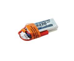 DUALSKY XP02202ES 7.4V 220mAh 2S1P 25C LiPo Battery