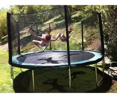 Best Round Trampoline 14ft With Durablity   550lbs Jumping Capacity
