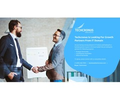 Techcronus Is Looking For Growth Partners From IT Domain