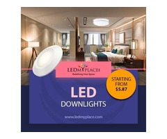 Use Dimmable LED Downlights For Energy Efficient Lighting
