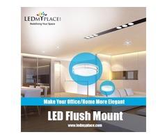 Get The Best Quality LED Flush Mount, Indoor Ceiling Light