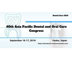 40th Asia Pacific Dental and Oral Care Congress | free-classifieds-usa.com