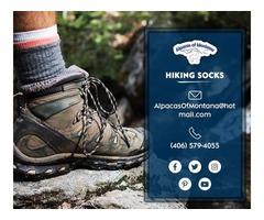 Find Fashionable Mens Hiking Socks - Alpacas of Montana