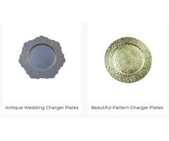 Bulk Silver Charger Plates Wholesale USA | Fulinartware.com