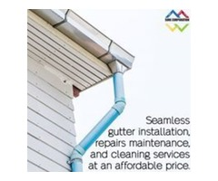 Gutter Cleaning and Gutter Guards Maintenance Services by Sure Gutter at Low Cost
