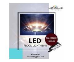 Install IP 65 rated 480w LED Flood Lights