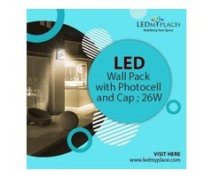 Upgrade to Photocell Featured 26w LED Wall Pack Lights for Enjoying Better Lighting Results