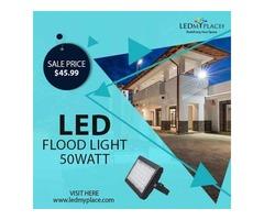 Install Long Lasting 50w LED Flood Lights to Enjoy Enhanced Durability and Long Life