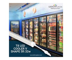 Make Food Items Look Fresher By Using 5ft LED Cooler Lights At Freezer