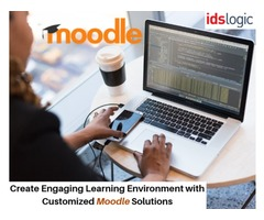 Create Engaging Learning Environment with Customized Moodle Solutions