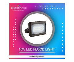 Install 15w LED Flood Light at the Playgrounds for Empowered Performances