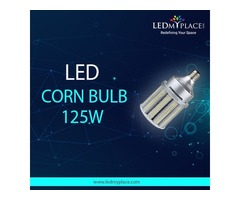 Install 125w LED Corn Bulb Inside your Art Galleries to Woo Customers