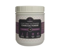 Coconut Activated Charcoal Powder at Gold Mountain Beauty