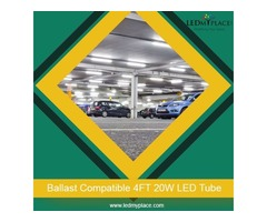 Use Eco Friendly 4ft 20w LED Tubes and Prevent Environment from Getting Damaged