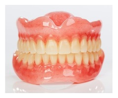 A dental implant supported denture