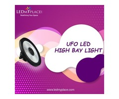 Use LED UFO High Bay Light With Low Energy Consumptions