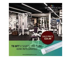 Eliminate all the Dark Spots by Using 8ft LED Integrated Tubes