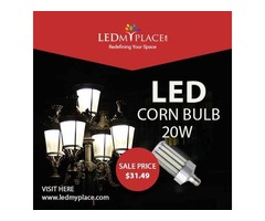 Reduce Monthly Electricity Expenses by 75% by Using 20W LED Corn Bulbs
