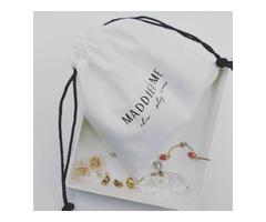 custom velvet jewelry drawstring pouch,custom logo velveteen pouches