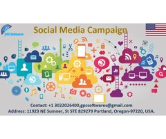 GPC Softwares can run your Social Media Campaign