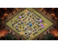 Clash of clans 12 Town hall