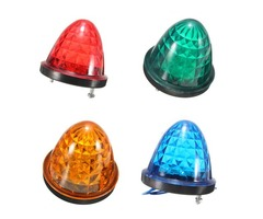 24V 14 LED Side Marker Light Lamp Indicator Truck Lorry Van Caravan Trailer Bus