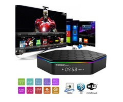 Amlogic S912 TV Boxes T95Z Plus 2GB 16GB Octa core 2.4G/5G WIFI BT4.0 4K H.265 Android 7.1 Smart TV