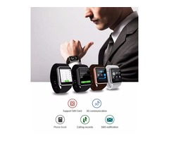 QW08 GT08-PLUS 3G Wifi Wristwacth Smart Watch Phone Android 4.4 1.56 inch MTK6572 1.2GHz Dual Core 5