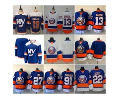2019 New Alternate Third Blue New York Islanders Hockey 13 Mathew Barzal 27 Anders Lee Jerseys 22 Mi