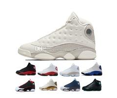 13 13s mens basketball shoes Phantom Hyper Royal Italy Blue Bordeaux Flints Chicago Bred DMP Wheat O