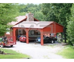 Shop The Best Double Carports with Economical Price in North Carolina