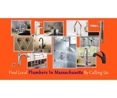 Find Local Plumbers in Massachusetts By Calling Us