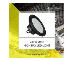 Replace Your 400W MH Light With 240W High Bay LED Lights For Better Lighting