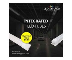 Install LED Integrated Tubes For Best Indoor Lighting