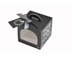 Get your Custom cupcake box  wholesale from us