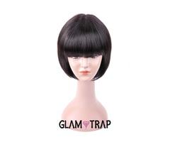 Buy Sapphire Short Bob Human Hair Wigs Online