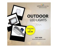 Purchase Outdoor LED Lights for Lightning Your Outdoor