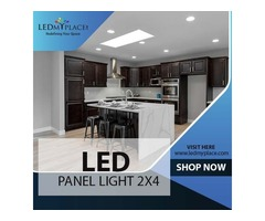 Buy Energy Efficient LED Panel Light 2x4 For Commercial Places