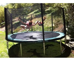 Round Trampoline Galactic Xtreme  14ft | Best Trampoline USA