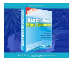 Batch Word Files Converter Software