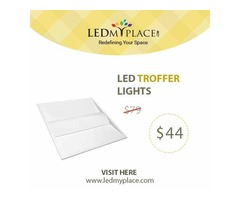 Use UL Certified 2X4 LED Troffer lights inside Offices