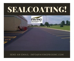 Sealcoating Company in Raleigh NC